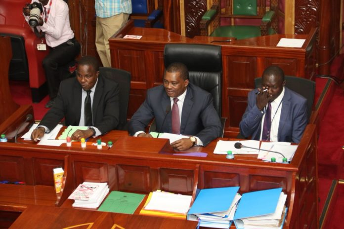 The Committee on Appointments, in charge of the vetting, is led by Speaker Justin Muturi