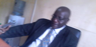Chesumei Sub County Education Officer Mr. David Mwandihi speaking to West Media