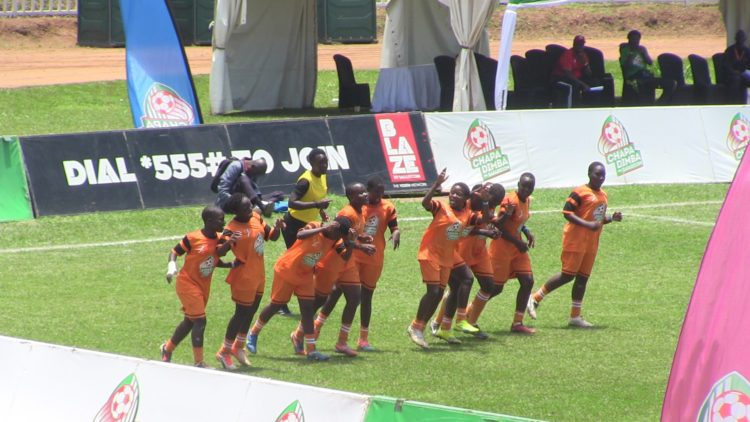 Tar Tar Girls will face Plateau Queens in the Chapa Dimba Na Safaricom Final in the girls' category
