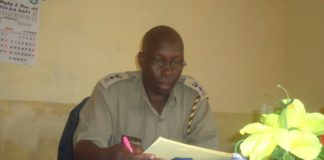 Likuyani OCPD Meshack Kiptum(pictured) confirmed that the body of the woman was found by a former chief