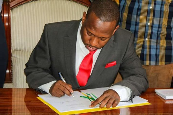 Nairobi Governor Mike Sonko