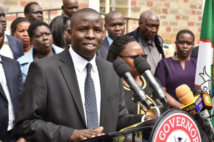 Nandi Governor Stephen Sang had formed a separate ad hoc committee after suspending County officials