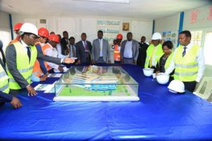 The Machakos Governor toured the proposed Kakamega Referral Hospital where construction is ongoing