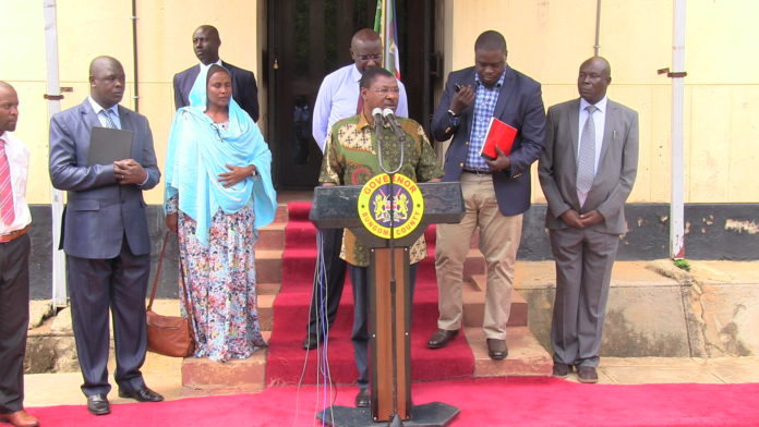 The Senate Security Committee toured Bungoma County as focus shifts to insecurity in Mt. Elgon