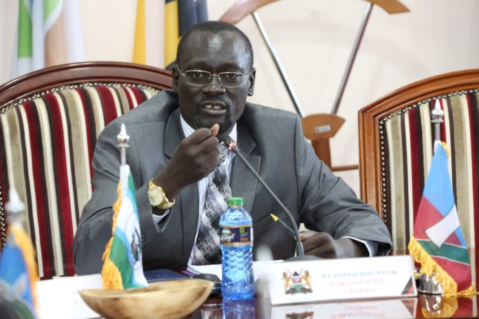 Council of Governors Chairman Josphat Nanok. FILE PHOTO