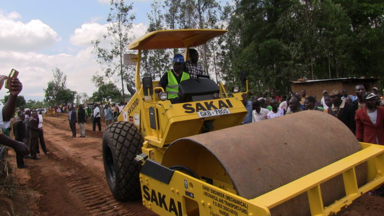 The rehabilitation and construction of roads must benefit all Counties