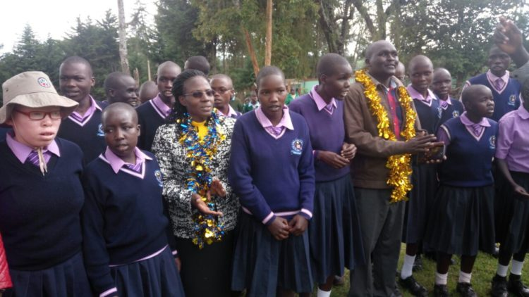 West Pokot first lady Dr. Mary Lonyangapuo had urged parents to register children who are living with disabilities in a previous function