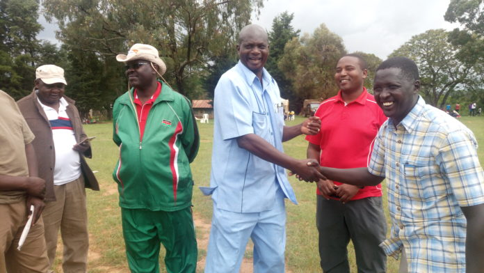 The games which took place in Chewoyet High School are set to improve service delivery by security officers