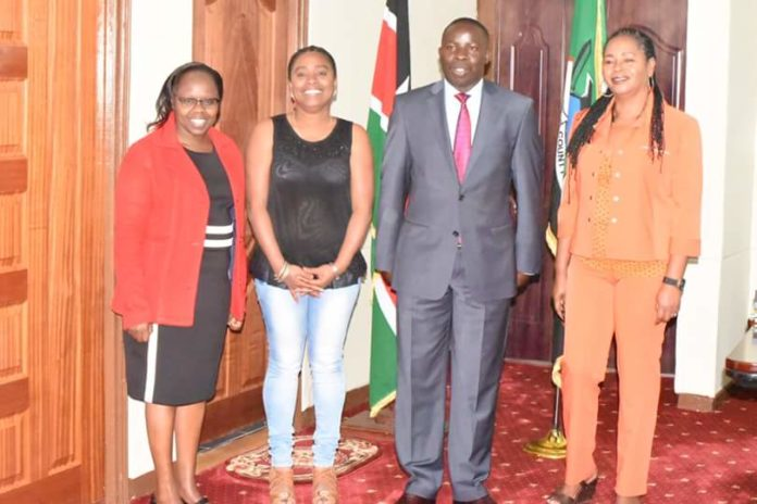 Nandi Governor Stephen Sang officially received the two Cuban doctors