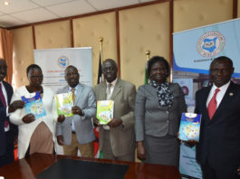 West Pokot County and Kenya Literature Bureau (KLB) officials