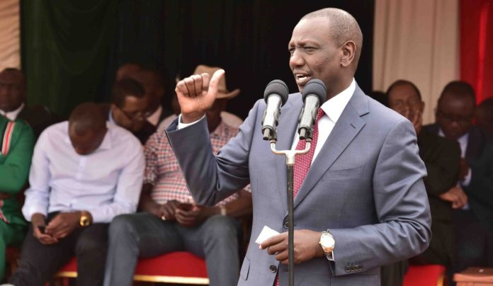 Deputy President William Ruto has urged all Kenyans to play their part to tackle the Coronavirus pandemic