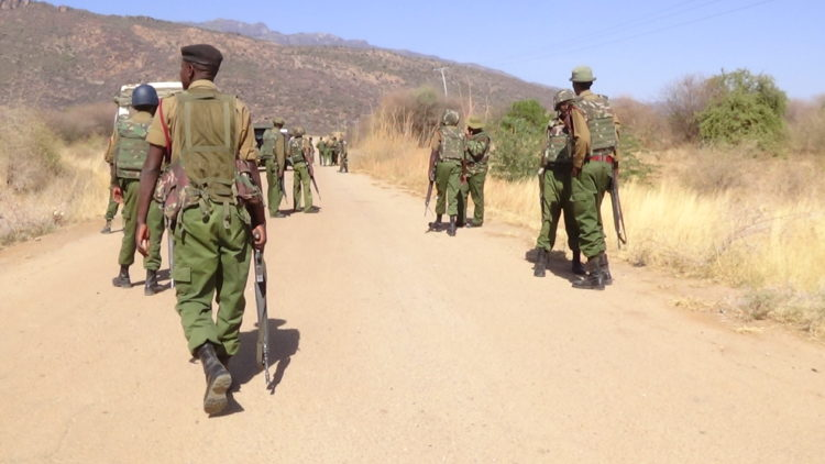 Insecurity has been a major problem along the West Pokot, Turkana border