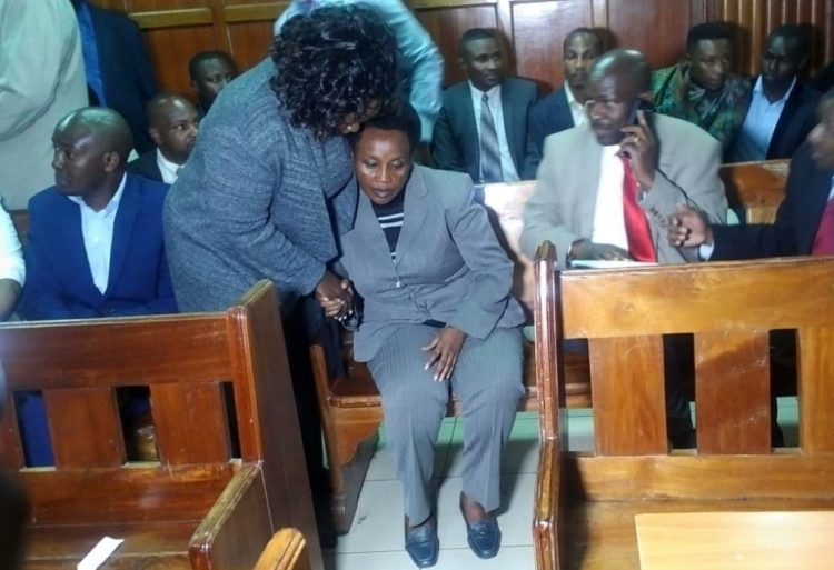 Deputy Chief Justice Philomena Mwilu in court