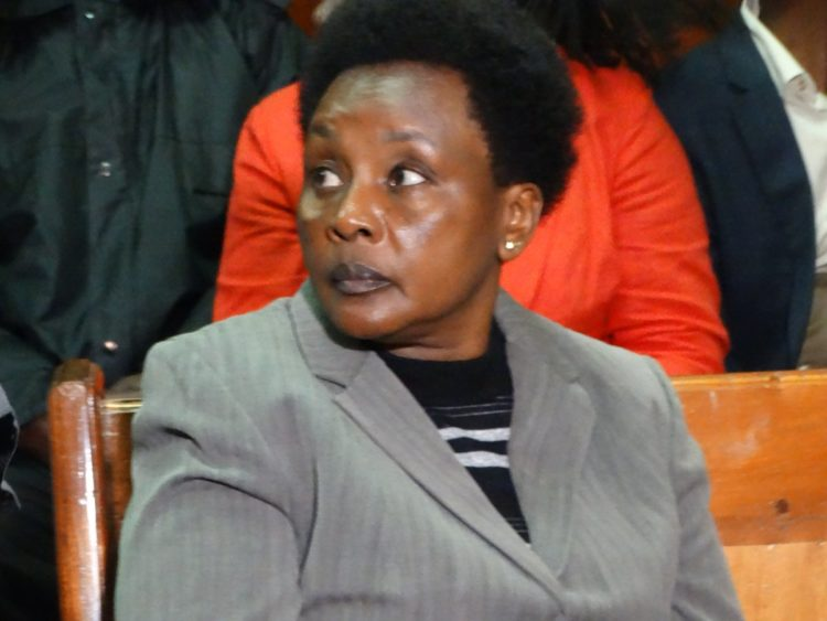 Deputy CJ Philomena Mwilu in court