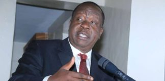 Interior CS Dr. Fred Matiang'i