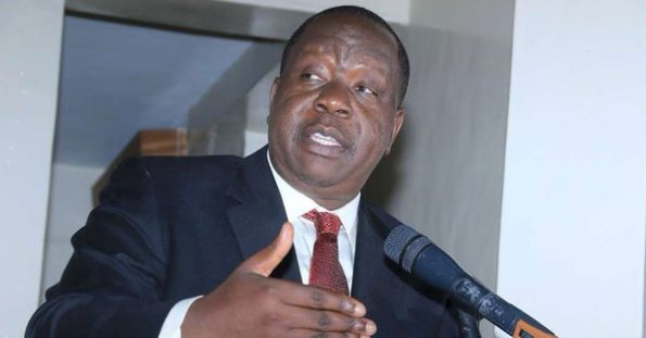 Interior CS Fred Matiang'i