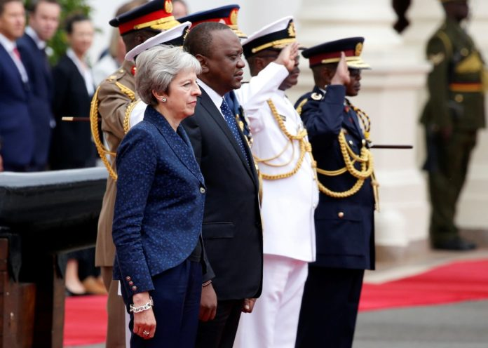 Trade ties between Kenya and the UK will remain strong after Brexit, according to Prime Minister May and President Kenyatta