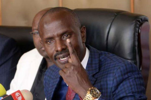 KNUT secretary general Wilson Sossion