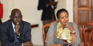 Education CS Amina Mohamed and Education PS Belio Kipsang