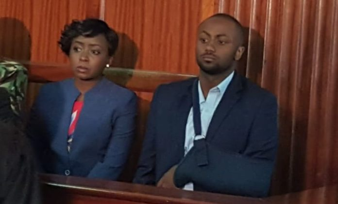 Jacque Maribe and Joseph Irungu in court