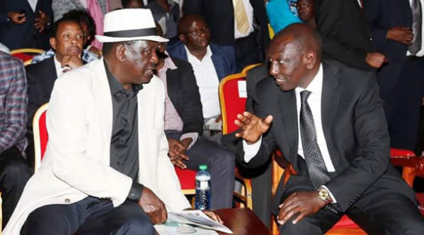 Deputy President William Ruto insisted the handshake can't be used to destroy Jubilee