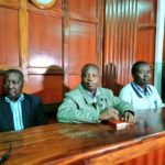 Former sports officials Francis Kanyili Paul, Stephen Soi, Richard Ekai were arraigned in Court on Monday