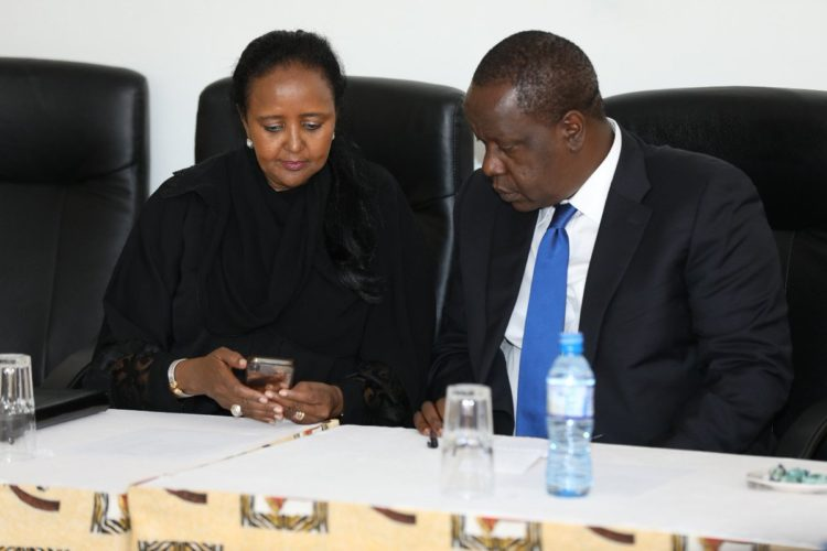 Interior CS Fred Matiang'i has assured his Education counterpart CS Amina Mohamed that sufficient security will be availed during the national exams