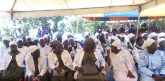 A section of CCA church members