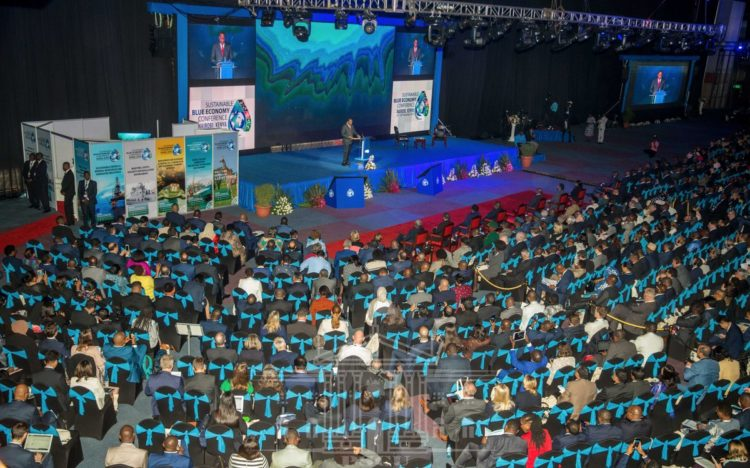 Leaders and delegates from around the world have converged at the KICC for the Sustainable Blue Economy Conference