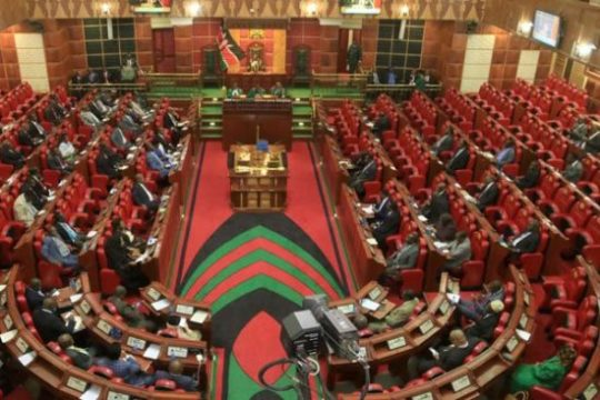 Attempts to pass the two thirds Gender Bill failed due to a lack of quorum