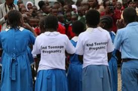 Teenage pregnancy cases were widely reported during last year's national exams. Photo/Courtesy