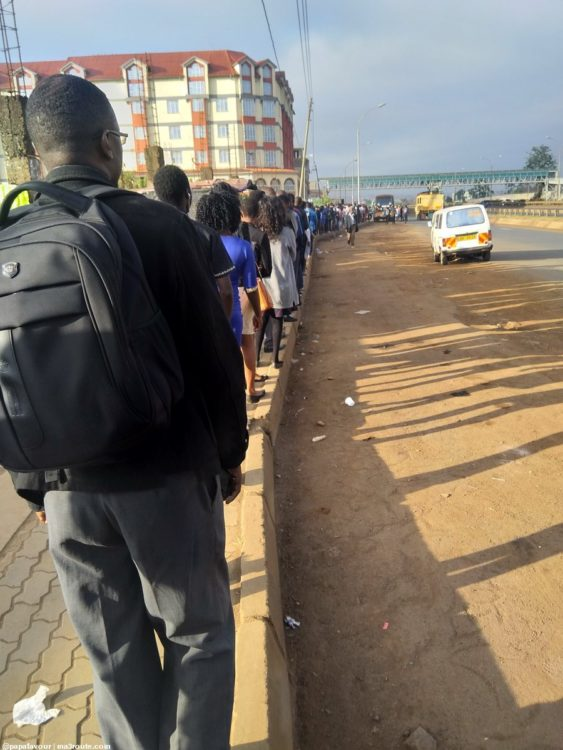 The traffic crackdown paralyzed public transport in different parts of the country