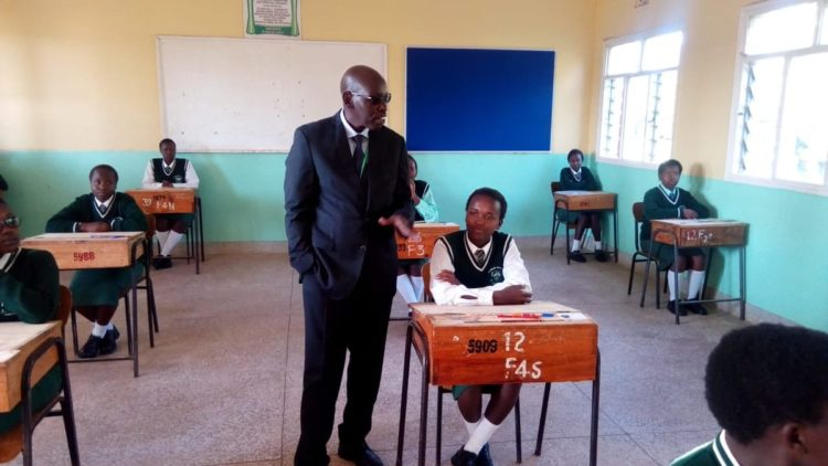 Education PS Belio Kipsang at St. Joseph's Chepterit