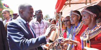Deputy President William Ruto has said the war on corruption shouldn't be politicized