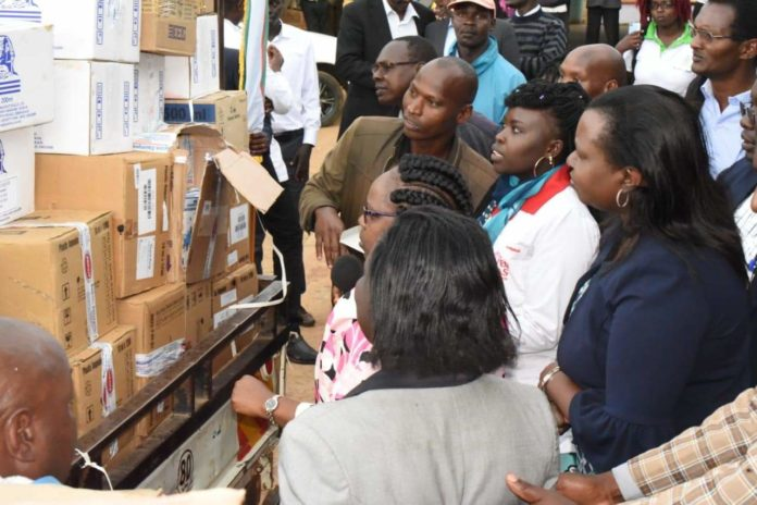 The Nandi government has received a fresh supply of drugs from KEMSA