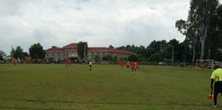 The Kakamega, Nandi match at the Kapsabet ground