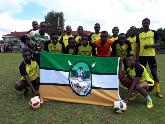 The men's football team that represented Kakamega at the KYISA games