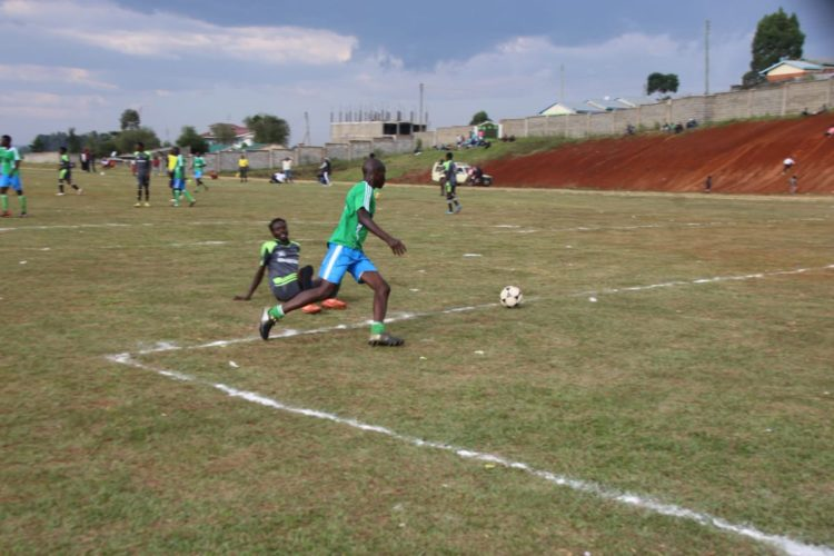 The KYISA games are being held in Nandi County