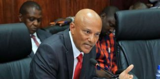 Twalib Mbarak when he appeared before the House Committee
