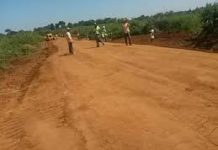 Mayenje road which is under the County government