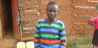 David Purisaro has opted to roast maize with his grandmother after failing to raise school fees