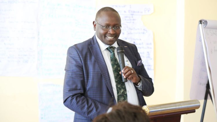 Deputy Governor for Trans Nzoia Dr. Stanley Tarus