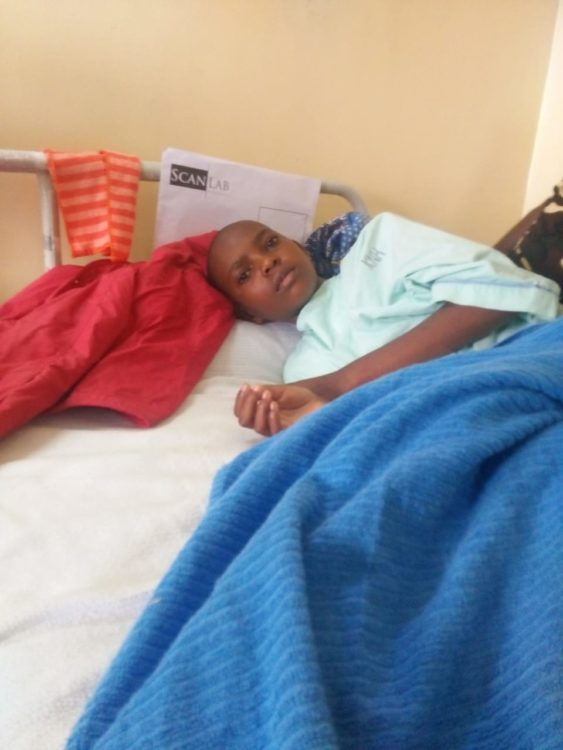 Vivian Nekesa's family has been unable to clear the pending medical bill at KNH