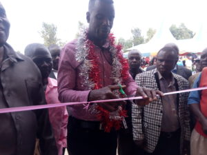 The Webuye West MP opened three classes