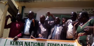 Kenya National Federation of Sugarcane Farmers board members