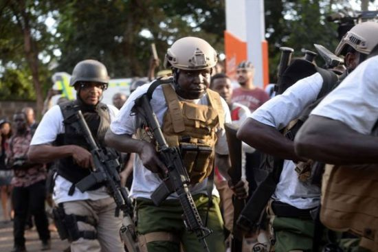 Raila Odinga commended security forces for their swift response after the attack happened