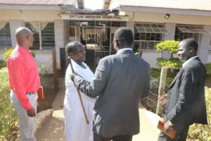 Governor Lonyangapuo at Ortum Mission Hospital