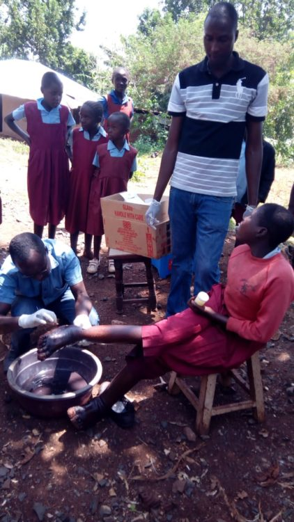 More than fifty Chepkurgung, in Terik, Nandi County, residents were attended to