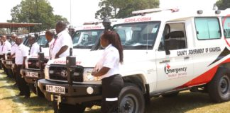The Kakamega Health CEC said the County administration wants to add 3 more ambulances to bring the total number to 12