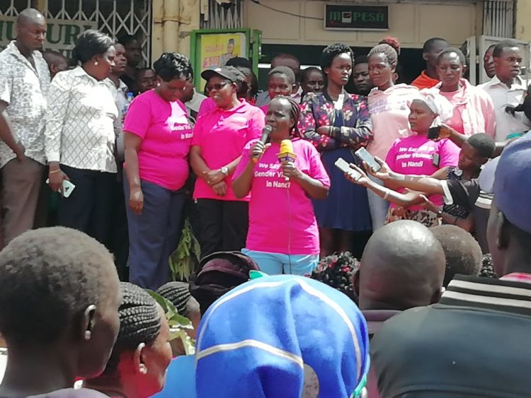 Nandi women led by Nandi Deputy Governor Yulita Cheruiyot have strongly condemned the rampant defilement cases
